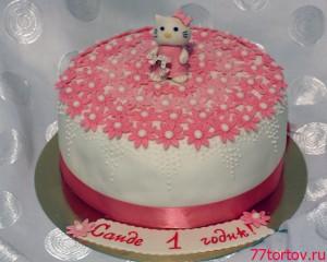 Торт с фигуркой Китти