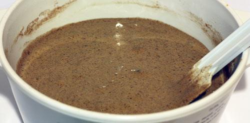Тесто для шоколадного бисквита