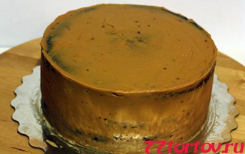 Масляный крем с варёным сгущённым молоком