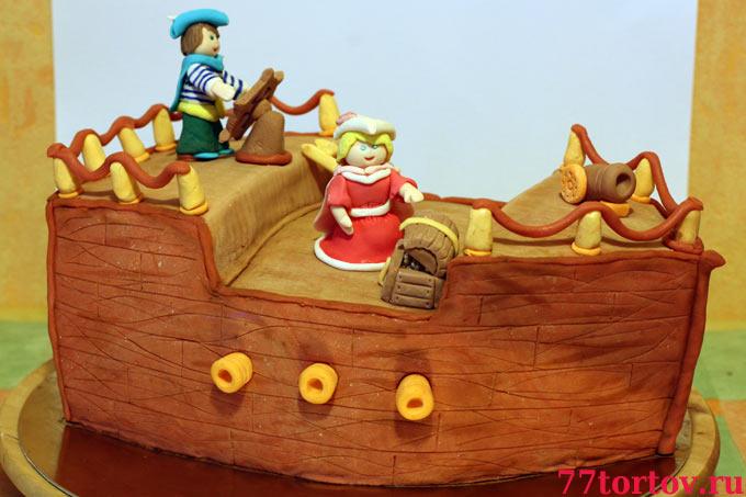 Торт Корабль