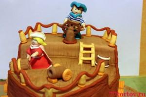 Корабельный сюжет для торта