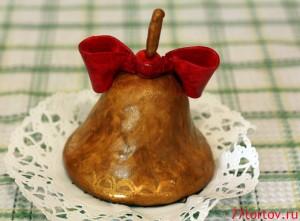 Пирожное в форме колокольчика