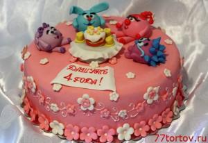 Торт Смешарики