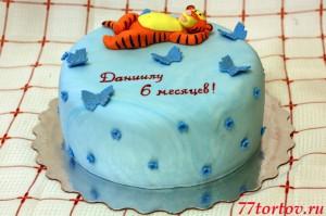 Торт с тигрёнком