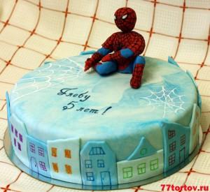 Человек-паук на торте