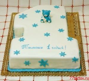 Торт Единица