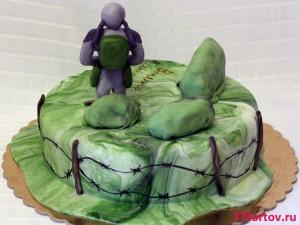 Торт Сталкер - вид сзади