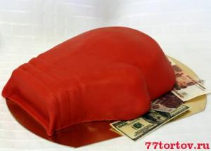 Торт Боксёрская перчатка