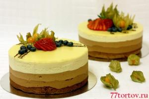 Украшение тортов ягодами