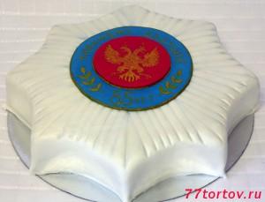 Торт в виде ордена