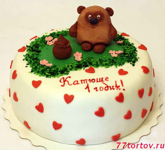 Торт с Винни-Пухом