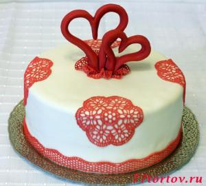 Торт на регистрацию брака