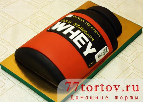 Торт банка протеина