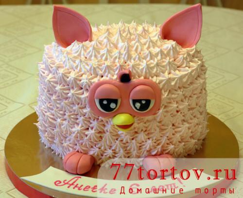 Торт фёрби