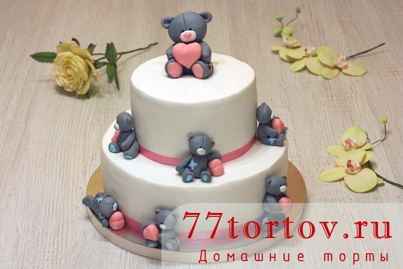 Тортик мишки Тедди