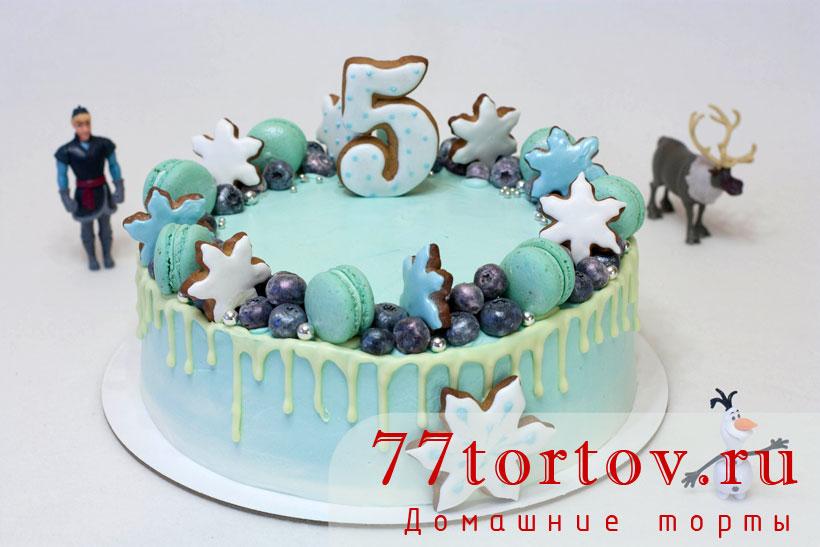Холодное сердце - вкусный торт
