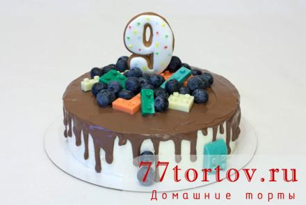 Торт с лего