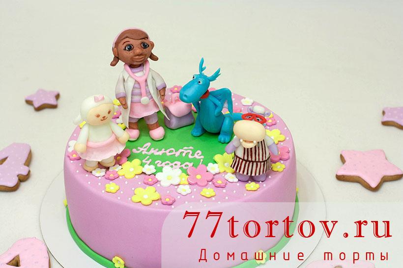 Доктор Плюшева - детский торт