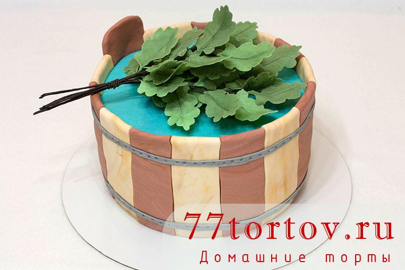 Торт с дубовым веником