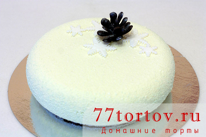 Муссовый торт на Новый Год